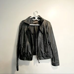 Dynamite | Faux Leather Moto Jacket